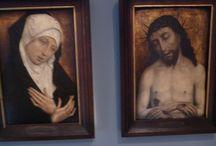 Simon Marmion: Cristo coronato di spine e Mater Dolorosa / Simon Marmion: Cristo coronato di spine e Mater Dolorosa, 1480 circa. Strasbourg, musée de beaux arts