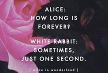 Thinking of Alice