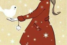 Cute lovely illustrations