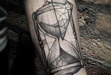 hourglass tattoo