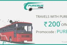 Purebus.com Special off / Online bus ticket booking