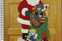 Christmas Plastic Canvas