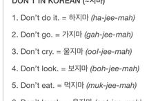 let's learn korean !!