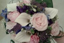 Flowers and stem wraps x / All made by me x