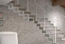 Scale / La scale prefabbricate sono costruite in legno o metallo, spesso anche abbinati tra loro o uniti al vetro, così da coniugare un'estetica accurata con la praticità e l'ergonomia. Ecco alcuni modelli a giorno, cioè senza alzate, per un impatto visivo leggero e moderno.
