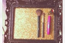 Makeup tray and organizations