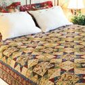 "Full Size Quilt Patterns / Looking for a quilt sized to fit a full or double size bed? You've come to the right place! These quilt patterns work well for beds with mattresses approximately 54"" x 75"", a standard double bed size. / by McCall's Quilting"
