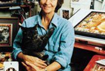 котохудожник Лесли Энн Айвори (Lesley Anne Ivory) / На сегодняшний день Лесли Энн Айвори (Lesley Anne Ivory) является одним из самых полюбившихся и знаменитых кошачьих художников, чьи портреты стали украшением во многих домах и коллекциях. Каждый кошатник должен знать ее картины