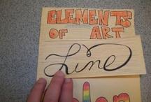 Art:   Elements / art priciples, art design, art elements art