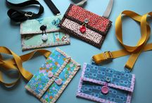 Bag Lady*…what's in/on those bags? / Wallets/card holders +  / by Janice Barnes