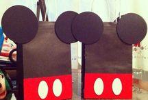 Mickey/ Minnie mouse bday ideas