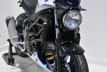 Suzuki SV 650 2016 by Ermax Design / Accessories