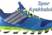 Kullanım alanına göre Spor ayakkabıları
