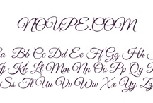Fonts -Typograhy/ Fontlar - Tipografi