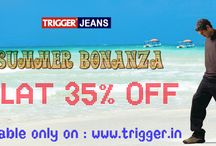TRIGGER FASHION JEANS / Don't miss your passion.. Buy your branded jeans at online visit : http://www.trigger.in