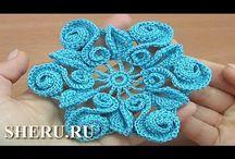 crochet/knitting videos