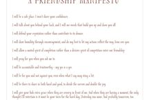 InCOURAGE / Deep, intentional friendships / by Janine Desper