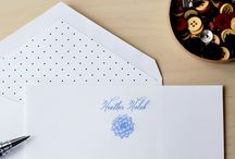 Merrymade // Personalized Stationery