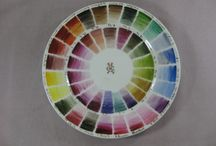 Colour sample plates