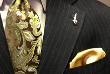 My Kinda Man Would Dress Like This / The ultimate gentleman for me would wear anyone of these ensembles. / by Mary Sias