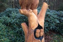 Chainsaw Carving OWN work