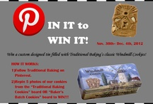Pin It to Win It Contests / Contests, Cookies by Traditional Baking / Baker's Batch