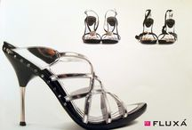 Millenium collection / #fluxashoes #madeinspain #handmade #millenium #collection #silver #leather