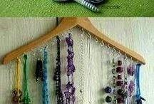 jewelery organizing