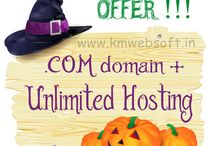 .COM domain + Unlimited Hosting Combo