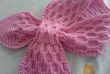 Honeycomb scarf