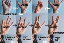 Ćwiczenia na nadgarstek