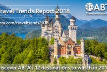 Travel trends 2018 / Looking to travel in 2018 but need some inspiration on where to go and how? In our latest #ABTAtraveltrends Report you can see 12 destinations to watch over the next 12 months. The report which is based on market information trends which are set to influence holidaymakers' habits in the year ahead. Are you inspired to travel?