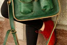 leather green