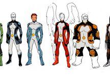 All New X-Men / Nuevos uniformes para los miembros originales de la Patrulla X
