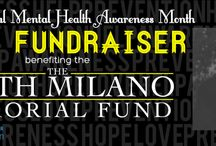 Mental Health Awareness / Mental Health Awareness Month benefiting the Keith Milano Memorial Fund at AFSP www.keithmilano.org #isupportmentalhealthawareness