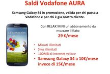 OFFERTISSIME / #VodafoneStoreAURABelgio #VodafoneStoreAURAAuchanTorino #VodafoneStoreAURAAuchanVenaria info@auratorino.it