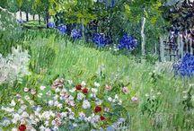 v.van gogh virágoskert