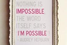 Great Quotes / by Karri Burgener
