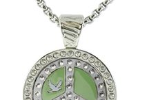Golf Ball Marker Necklaces for Women / by Navika