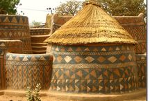 mud houses cob house strawbale houses / Build your own home with mud