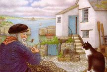 Picture Book Explorers ~ The Mousehole Cat / Go-alongs for the PBE Mousehole Cat