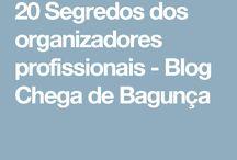 organizadores profissionais