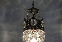 diy chandelier / by Brenda Sorrells