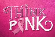 Think Pink for October / October is Breast Cancer Awareness Month! We celebrate those who have overcome their battles with this disease, and remember those who sadly have not. During the month of October, we encourage all to Think Pink, Think Positive, stay educated about the reality of breast cancer and help to raise awareness to bring us closer to a cure!
