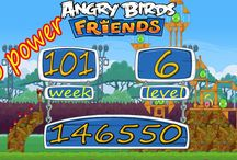 Angry Birds Friends Week 101 all levels no power / Angry Birds Friends Facebook 3 Star And get High Scores Walk through from  21th April 2014