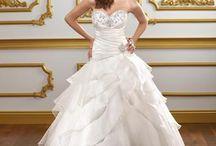 wedding dresses / by Sarah Evans
