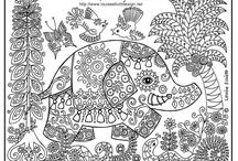 Colouring Pages for Grown Up