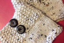 polainas de tricô