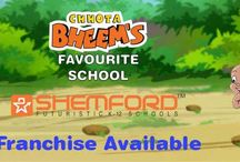 Shemford Group of School / SHEMFORD Futuristic Schools is Fastest growing school chain in 10+2 Schools in India with branches spread across the country. / by manish