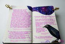 Moleskine/art journal/diary